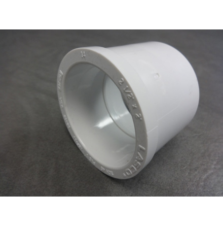 """PVC Bustning / Förminskning 2,5"""" -2"""" CS"""
