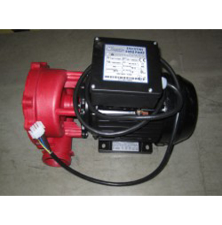 Pump 5HP 2-hast. röd CS
