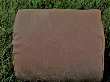 Leathertex kudde mocka