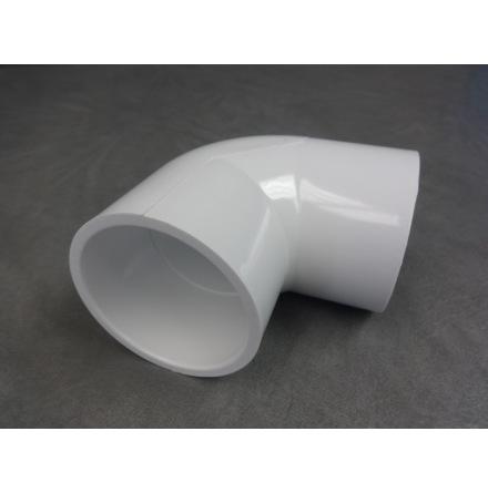 "PVC Vinkel 90 gr 2 1/2"" hona CS"
