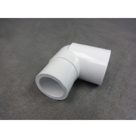 "PVC Vinkel 90 gr 3/4"" hona/hane CS"