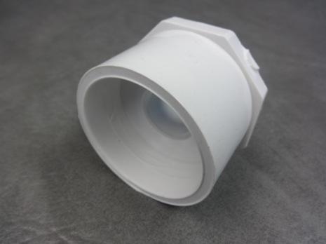 """PVC Bustning / Förminskning 2"""" -3/4"""" CS"""