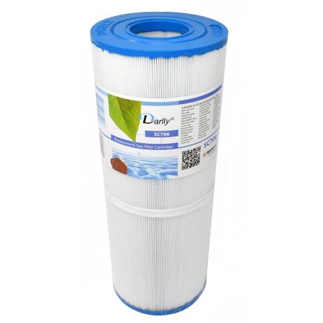 Filter 50sqf 34x13x5cm hål