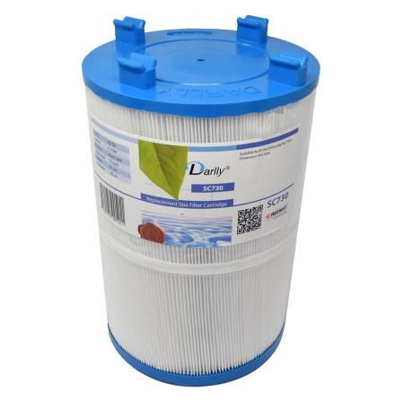 Filter 75sqf 27x18x5cm hål med bajonett