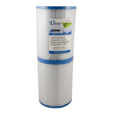 Filter 50sqf 17x13x5cm hål (säljs i par)