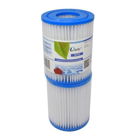 Filter 8sqf 14x11x5cm hål