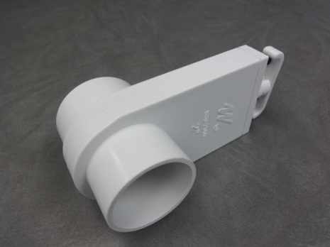 "PVC blad ventil 1,5"" hane/hane"