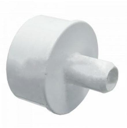 """PVC Skarvmuff 1,5"""" hane / 3/4"""" ozone slang"""