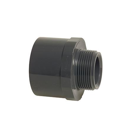 "PVC Skarvmuff 50/40-1½"" gänga utv"