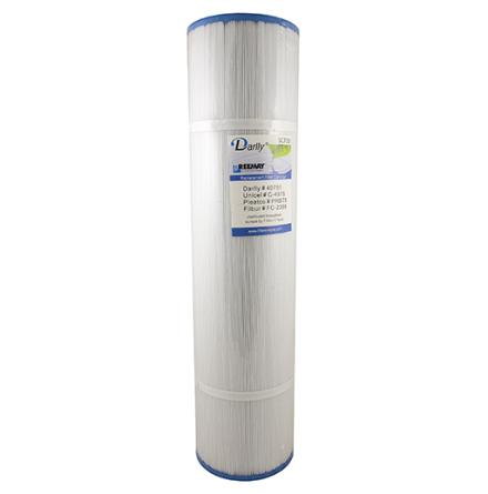 Filter 75 sqf 51x13x5 hål