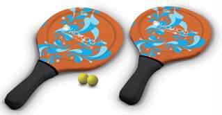 Racket set med bollar