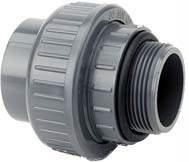 PVC Union 50mm-1½ utv oring