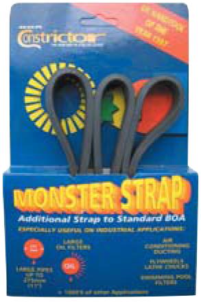 "Utbytesrem ""Monster strap"""